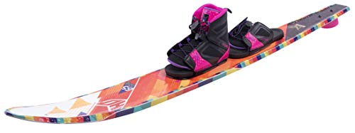 Ho Women's Freeride Evo Slalom Waterski with Free-Max Binding and Rear Toe Plate -