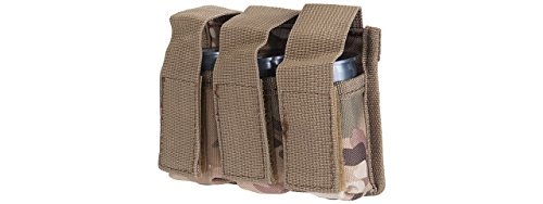 Lancer Tactical Triple Molle M203 Grenade Pouch (Camo) ()