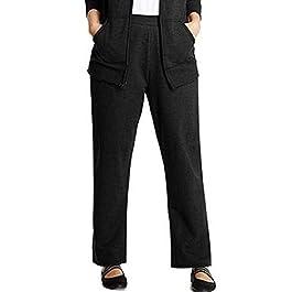 Hanes Women's Fleece Pant Open Leg Sweatpants, Regular S – 2XL