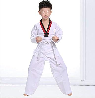 AMhuui Uniforme del Estudiante de Taekwondo de los Artes Marciales ...