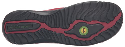 Jambu Womens Bridget Flat Red