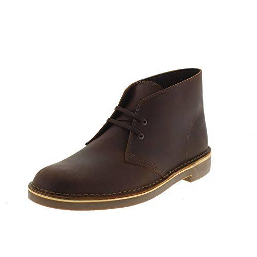 2 Clarks Polacchini Bushacre 26139052 Brown Chaussures Homme XRnaBR