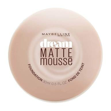Maybelline Dream Matte Mousse Foundation, Honey Beige [4], 0.64 oz (Pack of 8)