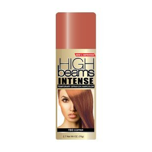 Amazon Com High Beams Intense Temporary Spray On Hair Color Copper 2 7 Oz 3 Pack Hair Highlighting Products Beauty