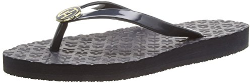 27R Women's Cone Monica Heel Blue Sandals Hilfiger Tommy 403 Midnight 1twIq5R