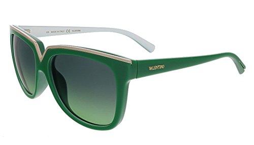 Valentino V638S 314 Pop Green Wayfarer Valentino - Valentino Sunglasses