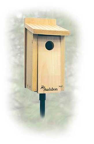 - New Woodlink Audubon Series Cedar Bluebird House Built To Audubon Specifications 1 9/16 In Hole
