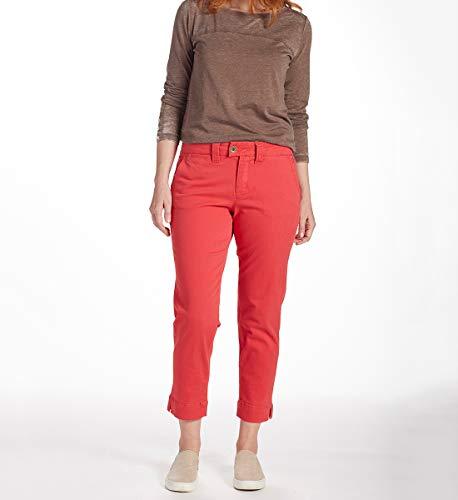 Jag Jeans Women's Creston Ankle Crop, Hibiscus, 4 ()