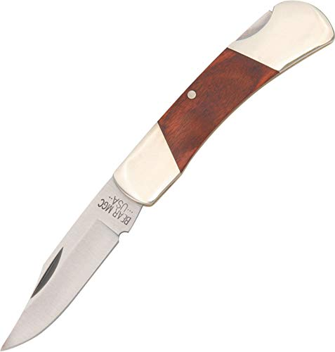 Bear & Son 226R Rosewood Upswept Executive Lockback Knife, 3-Inch
