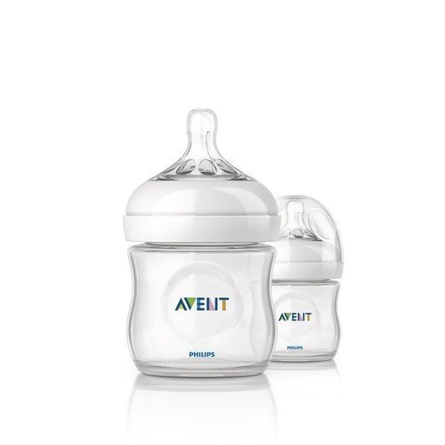 (Philips Avent NEW Natural Baby Feeding Bottle 125ml Twin 2 Pack Scf690/27 4oz Best Quality Original From United Kingdom Fast Shipping)