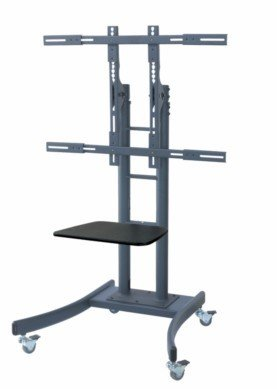 Tyke Supply Heavy Duty Commercial Mobile TV Cart with -