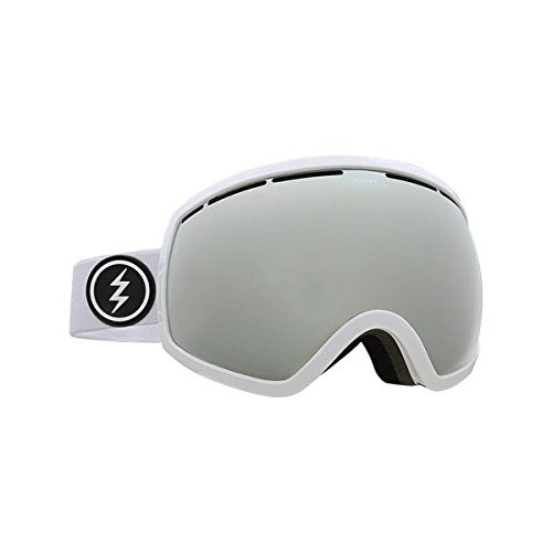 (Electric EG2 2018 Goggles Gloss White Brose/Silver Chrome)