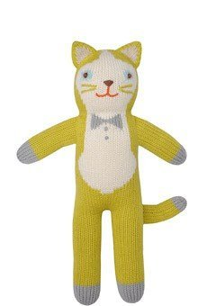- Blabla Theo The Cat Mini Plush Doll - Knit Stuffed Animal for Kids. Cute, Cuddly & Soft Cotton Toy. Perfect, Forever Cherished. Eco-Friendly. Certified Safe & Non-Toxic.