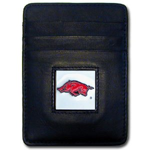 Card Razorbacks Arkansas Credit - Siskiyou NCAA Arkansas Razorbacks Leather Money Clip/Cardholder