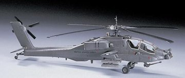 RCECHO® Hasegawa Helicopter Model 1/72 AH-64A Apache US Army Attack D6 Hobby 00436 H0436 with RCECHO® Full Version Apps ()