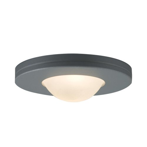 JESCO Lighting PK403SG Straight-edged Slim Disk with Frosted Glass - Disk Slim Edged
