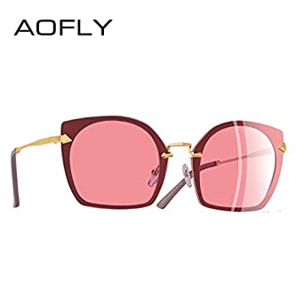99ec903ee35 Shopystore C5Pink  Aofly Brand Design 2018 Cat Eye Sunglasses Unique Frame  Vintage Polarized Sungla  Amazon.in  Clothing   Accessories
