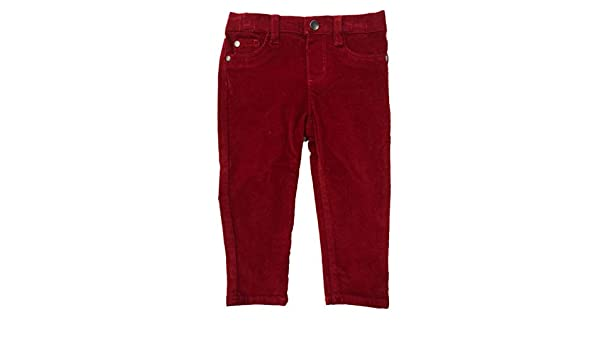 Infant /& Toddler Girls /& Boys Red Corduroy Jeans Pants Cranberry Baby Cords