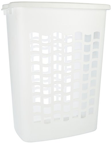 Rubbermaid Laundry Hamper Kit, White (FG2656TPWHT)