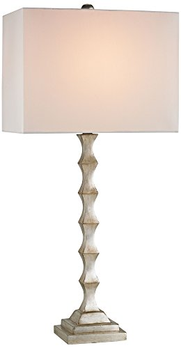 Currey and Company Lyndhurst Silver Leaf Table Lamp (Studio Lyndhurst)