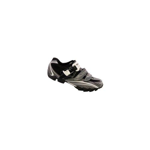 Shimano - Zapatillas de ciclismo para hombre, color plateado, talla 49 Plateado
