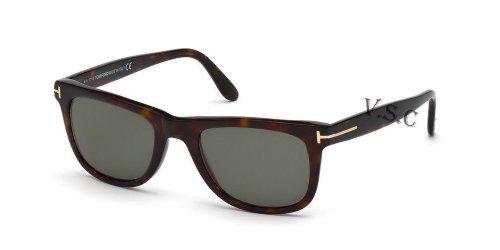 Tom Ford Leo Tf336 Ft0336 Authentic Designer Sunglasses 56r Polorized Green - Authentic Sunglasses Designer