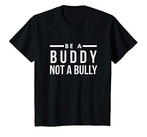 Kids Be a buddy not a bully we choose kind gift t-shirt 12 Black