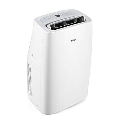 DELLA | 10,000 12,000 14,000 BTU Portable Air Conditioner | Cooling Fan 3 Speed | Dehumidifier | LCD Digital Display