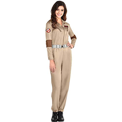 Party City Classic Ghostbusters Halloween Costume for Women, Small, with Badges - http://coolthings.us