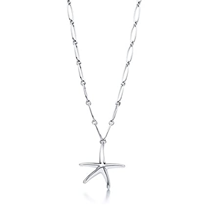 743ccd9db Image Unavailable. Image not available for. Color: Tiffany & Co Elsa  Peretti Starfish Necklace