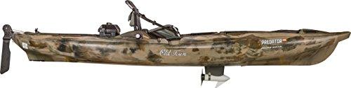 Old Town Predator MK Minn Kota Motorized Fishing Kayak (Brown Camo)