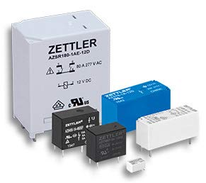 AZ420-80-204, Electromechanical Relay 18VDC 430Ohm 3A DPDT (18.7x24x30) mm Plug-in General Purpose Relay by American Zettler