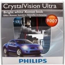 Philips Crystal Vision Ultra 9007 CVS2 Bright White Xenon...