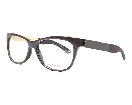 YSL Women's Eyeglasses 54 Greymtgregld
