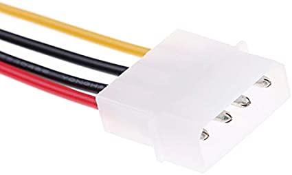 Cable Length: about40-50cm Cables 1pc SATA Cable 50cm SATA Interface to ESATA Port Large 4pin Power Interface Conversion Cable