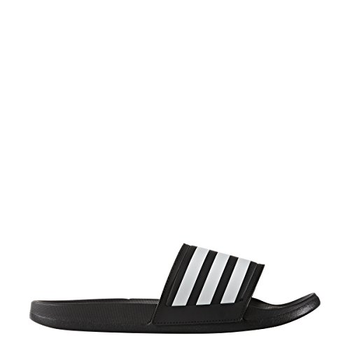 adidas Originals Men's Adilette CF Slide Sandals, Black/White/Black, (8 M US) Adidas Mens Edge Top