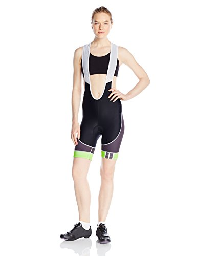 Primal Wear Women's Frequency Evo Bib Shorts, Small, Green