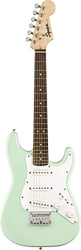 Fender Squier Mini Strat Electric Guitar – Surf Green