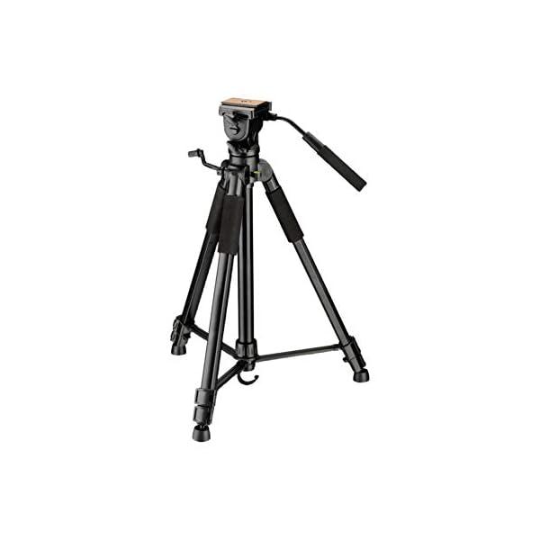 RetinaPix DIGITEK® DTR 590 VD Pro Tripod for DSLR & Video Cameras Lightweight & Sturdy Tripod with 2 Way Adjustable Head