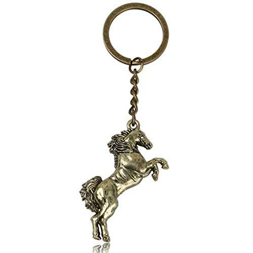 Amazon.com: Llavero de caballo para correr, llavero creativo ...