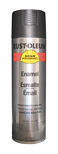 Performance V2100 High System (Rust-Oleum V2177838 High Performance V2100 System Semi-Gloss Rust Preventive Enamel Spray Paint, 20-Ounce, Black, 6-Pack)