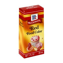 Mccormick McCormick Red Food Color, 1 fz (Pack of 6)