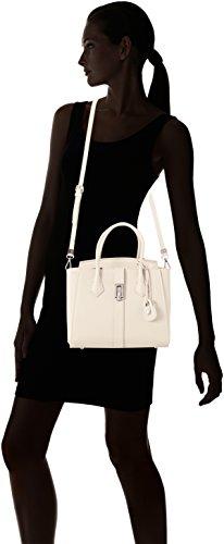 Trussardi Jeans Suzanne, Borsa Tote Donna, 30x36x16 cm Bianco (Off White)