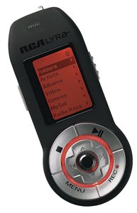 MB Personal Digital Audio Player with Voice, Line-in and FM Recording (Rca 256 Mb Mp3)
