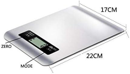 WZLJW Bilancia da Cucina di Alta precisione di Cucina Scala Digitale Elettronica Alimentari Scala ggsm