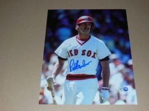 Rick Burleson Autographed 8x10 Photo MLB Authenticated Pose 2