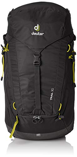 - Deuter Trail 30 Backpacking Backpack, Black/Graphite