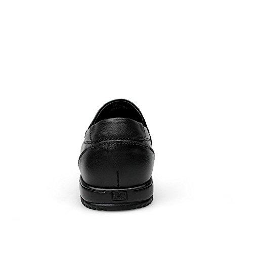 tacco Maschio piatto shoes da uomo scarpe 2018 colore solido tacco su guida stile Xiazhi piatto mocassino mocassini q51TYnU00w