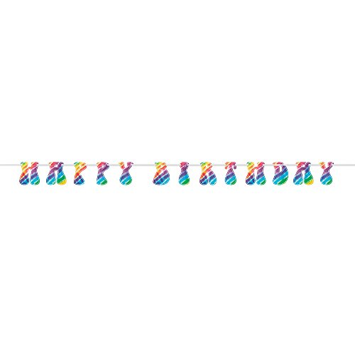9ft Rainbow Tie Dye Happy Birthday Banner - Pictures Of Hippies In The 60s