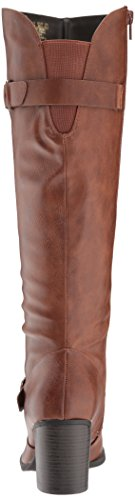 Brown Trish Boot NATURAL Knee Women's High SOUL pxqwW04FY